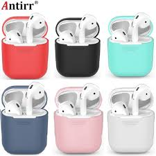 1PCS TPU <b>Silicone Bluetooth Wireless Earphone</b> Case For AirPods ...