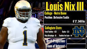 nfl draft profile louis nix iii strengths and weaknesses 2014 nfl draft profile louis nix iii strengths and weaknesses projection