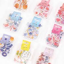 <b>6pcs</b>/<b>lot Cute</b> Unicorn Stickers Kawaii Cartoon <b>Cat</b> Sticky Paper ...