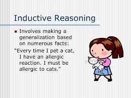"""argumentation  definition an argument is a statement that is    inductive reasoning involves making a generalization based on numerous facts  """"every time i pet"""
