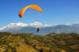 top adventure sports you should try before you turn hops paragliding