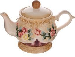 """<b>Чайник заварочный</b> Mayer & Boch """"Розы"""", <b>1.15 л</b>. 22436 — купить ..."""