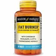 Super <b>Fat Burner Plus Super</b> Citrimax, 60 Tablets, Mason Natural ...