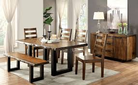 oak dining room table contemporary