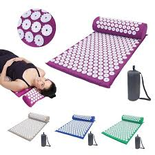 <b>Acupressure</b> Mat <b>Massager Pillow</b> Head Neck Back Foot Massage ...