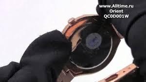 Женские японские наручные <b>часы Orient QC0D001W</b> - YouTube