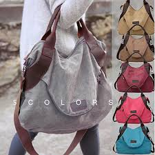 2019 <b>Rushed New</b> Arrival Solid Casual Zipper Canvas Shopping ...