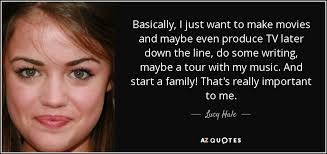 TOP 25 QUOTES BY LUCY HALE | A-Z Quotes via Relatably.com