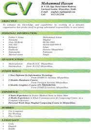professional resume template resume template  latest cv format