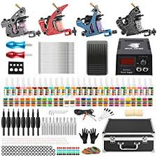 Solong Complete Tattoo Kit 4 Pro Machine Guns 54 ... - Amazon.com