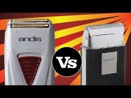 Moser <b>Shaver</b> VS <b>Andis TS</b>-<b>1</b> ProFoil Lithium - YouTube