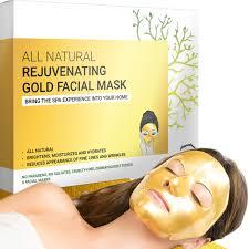 Anti-Wrinkle & Rejuvenating <b>Gold Facial Mask</b> (5-<b>sheets</b>) | Doppeltree