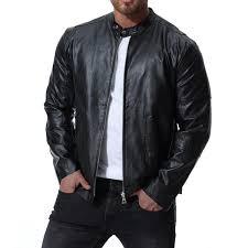 2019 <b>Mens Leather Jackets Men</b> Jacket <b>High</b> Quality Classic ...