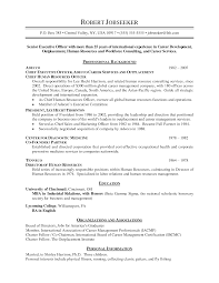 sample chronological resume com sample chronological resume for a resume sample of your resume 4