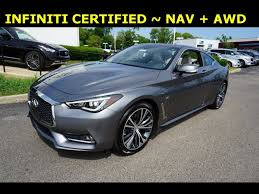 Certified 2017 INFINITI Q60 w/ Premium Package for sale in ...