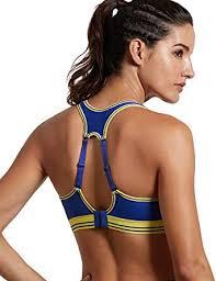 SYROKAN <b>Women's</b> Run Bra <b>High</b> Impact Sports Bra <b>Quick Dry</b> Max ...