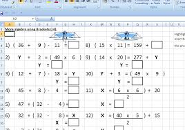 Excel key stage 2 worksheets page 3a larger IWB version