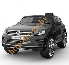 Детский <b>электромобиль Jiajia Volkswagen Touareg</b> Black ...