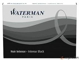 Чернила в <b>картридже</b> З/ч. <b>Waterman</b> Ink cartridge Standard Black в ...