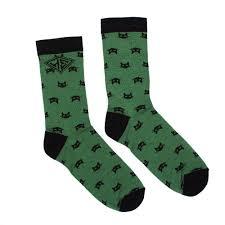 Носки <b>ЗАПОРОЖЕЦ</b> Котики женские (Зеленый (Зеленый ...