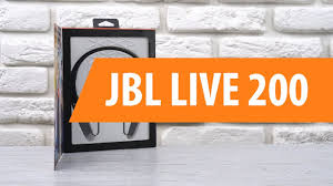 Распаковка беспроводных <b>наушников JBL LIVE</b> 200 / Unboxing ...
