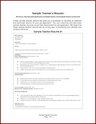 simple format of resume for the post of teacher sendletters info sample teachers resume by sammyc2007