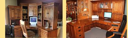 amish built home office furniture groups available at amish custom furniture and accents serving the built office furniture