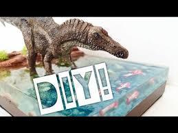 (107) DIY <b>realistic Dinosaur</b> Diorama with water effect! - YouTube ...
