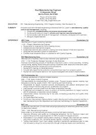 manufacturing resumes samples resume ideas cilook us sample manufacturing engineer resume sample