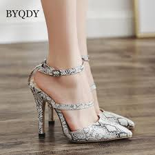 for womens sexy thin high heel leopard peep toe lazy shoes fashion platform miced colors dress women pumps black blue brown