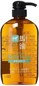 <b>Kumano</b> fat Yushi Horse Oil <b>Shampoo</b> Conditioner Bottle <b>Body Soap</b> ...