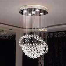 buy crystal minimalist modern living room lamp bedroom lamp crystal ceiling chandelier lighting lamps led creative sphere in cheap price on alibabacom bedroom chandelier lighting