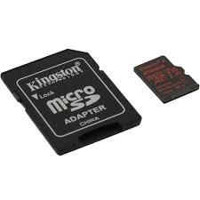 MicroSDXC <b>карта Kingston</b> Canvas React <b>256</b> Гб A1, V30, UHS-I ...
