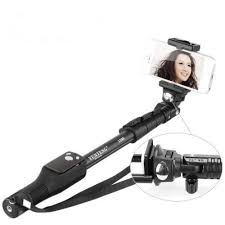 <b>Yunteng YT 1288</b> Extendable Selfie Stick with <b>Bluetooth</b> Remote ...