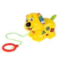 """Обучающая игрушка """"<b>Собака</b>-<b>каталка</b>"""" Умка - Песни на стихи А ..."""