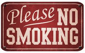 Red And White <b>Metal Vintage No Smoking</b> Sign Stock Photo ...
