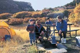 Image result for kids cooking camping pics