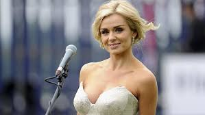 Katherine Jenkins Party together with Prince Harry, David B.