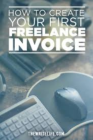 how to create your first lance invoice 4 a breakdown of services if you re manually creating the invoice