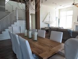 reclaimed russian oak dining table