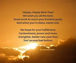 New Years Poems and Toasts They