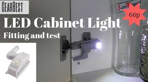 <b>LED Cabinet</b> cupboard <b>Hinge Light</b>. Gearbest.com - YouTube