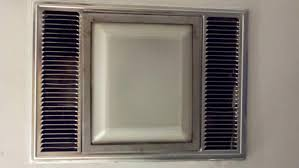 bathroom heaters exhaust fan light: silver ixl neo tastic dual bathroom in heater exhaust and led