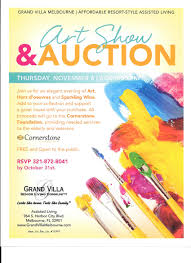 fundraisers cornerstone foundation art fundraiser flyer