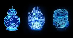 <b>Star Wars LED</b> lamps will bring out your inner Jedi