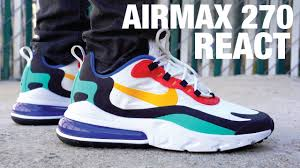 <b>Nike Air Max 270</b> React Review & On Feet - YouTube