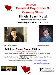 Sweetest Day Dinner & Comedy Show! | 95 WIIL ROCK
