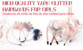 <b>Oaoleer Hair Accessories</b> Jelly Bows for Girls Sequins Transparent ...