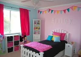 m beauteous pink blue paint color combination of cute teenage bedroom design with lovely red fabric rod pocket curtains and tall white wooden corner open beauteous pink blue