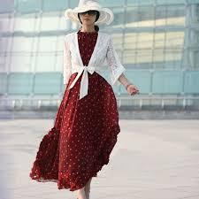 <b>Sisjuly</b> Fashion Women's <b>polka dots</b> Maxi dress long Casual ...